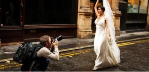 Como são tratados os profissionais que trabalham no seu casamento?