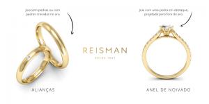 Qual a diferença entre um anel de noivado e uma aliança?