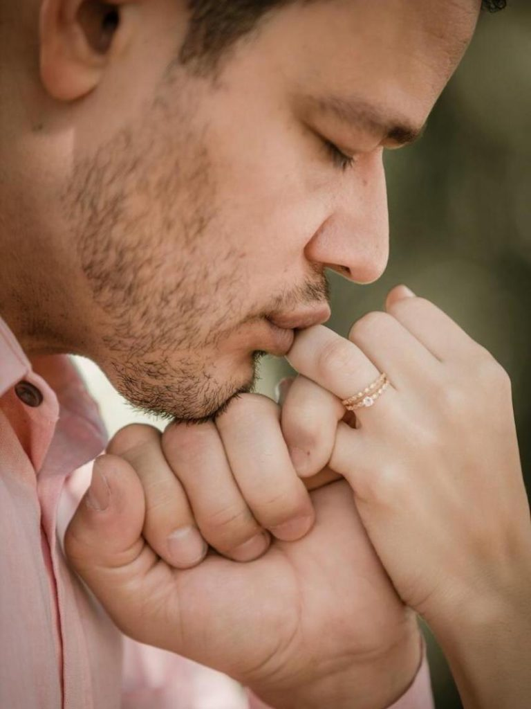 anel de noivado para pedido de casamento