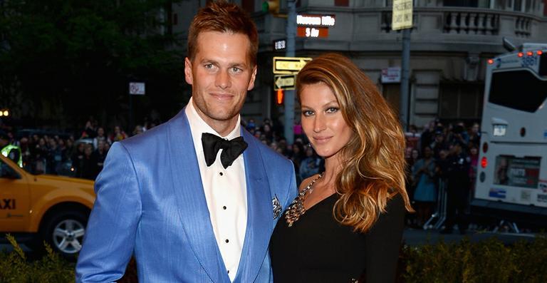 As alianças de casamento de Gisele Bundchen e Tom Brady