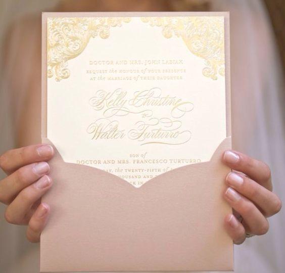 Ideias para o convite de casamento