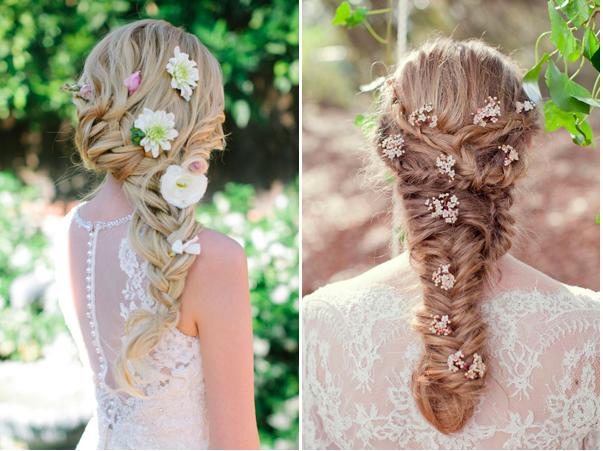 Inspiração: Penteados para noivas com tranças
