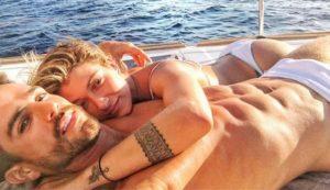 O noivado de Gabriela Pugliesi e Erasmo Viana na Grécia