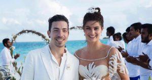 O vestido de Noiva de Isabeli Fontana