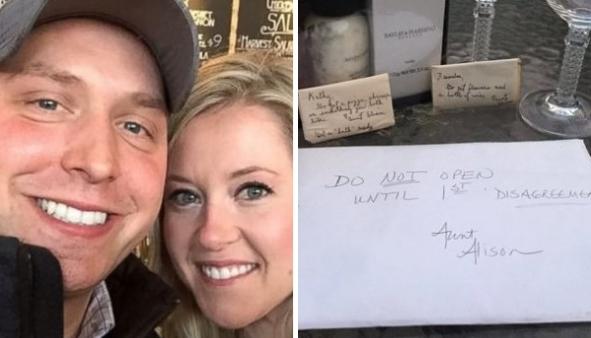 Casal abre um dos presentes de casamento somente após 9 anos!