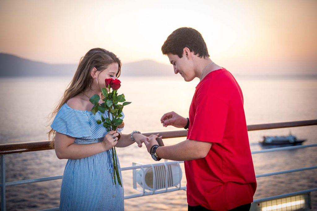 pedido de casamento surpresa