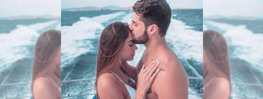 Alok divulga vídeo de seu noivado com Romana Novais na Grécia