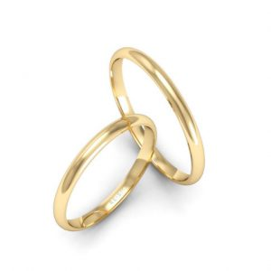 Alianças de Casamento Finas