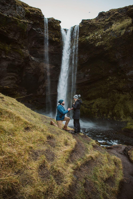 Pedir em casamento em cascata