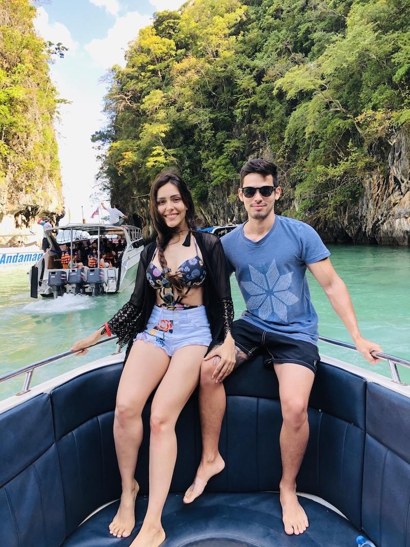 pedido de casamento praia da tailandia