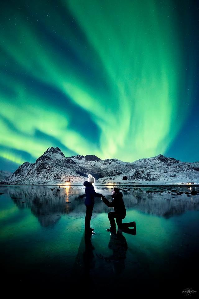 pedido aurora boreal