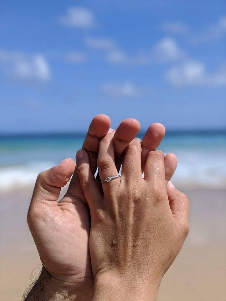 pedido de casamento em noronha