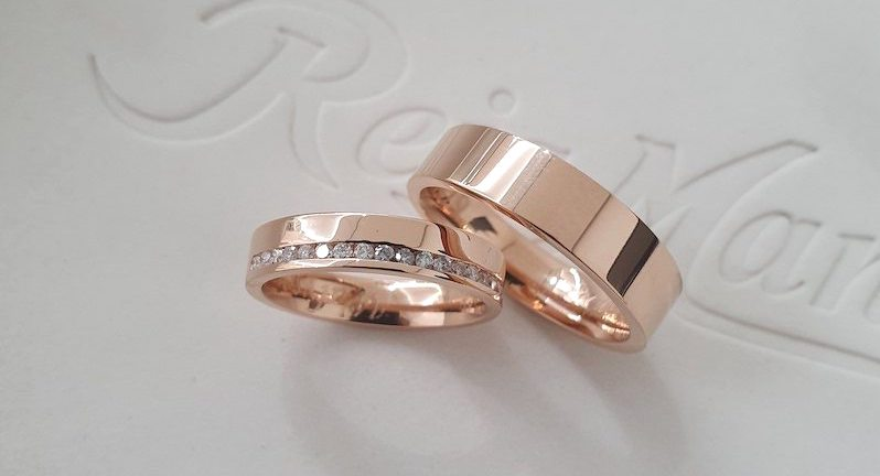 Alianças em ouro rosé: mais de 14 modelos para você se apaixonar!
