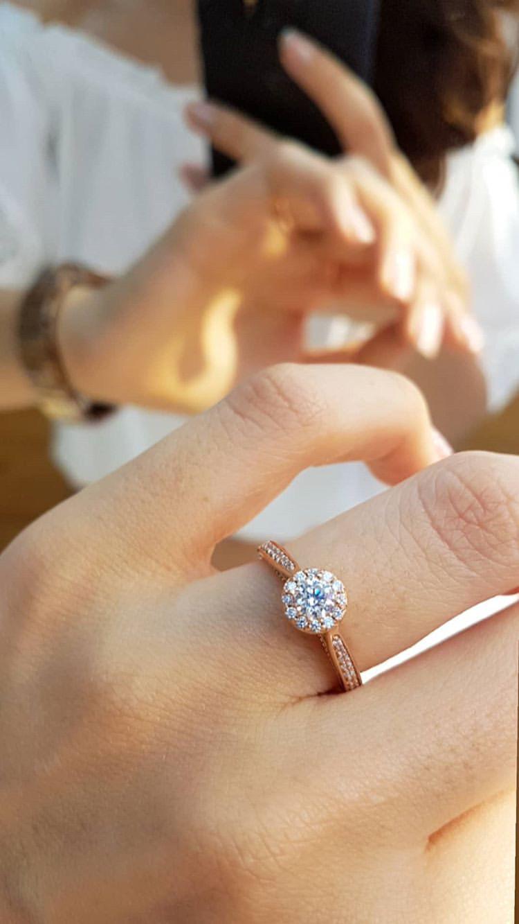 anel amore mio em ouro rosé