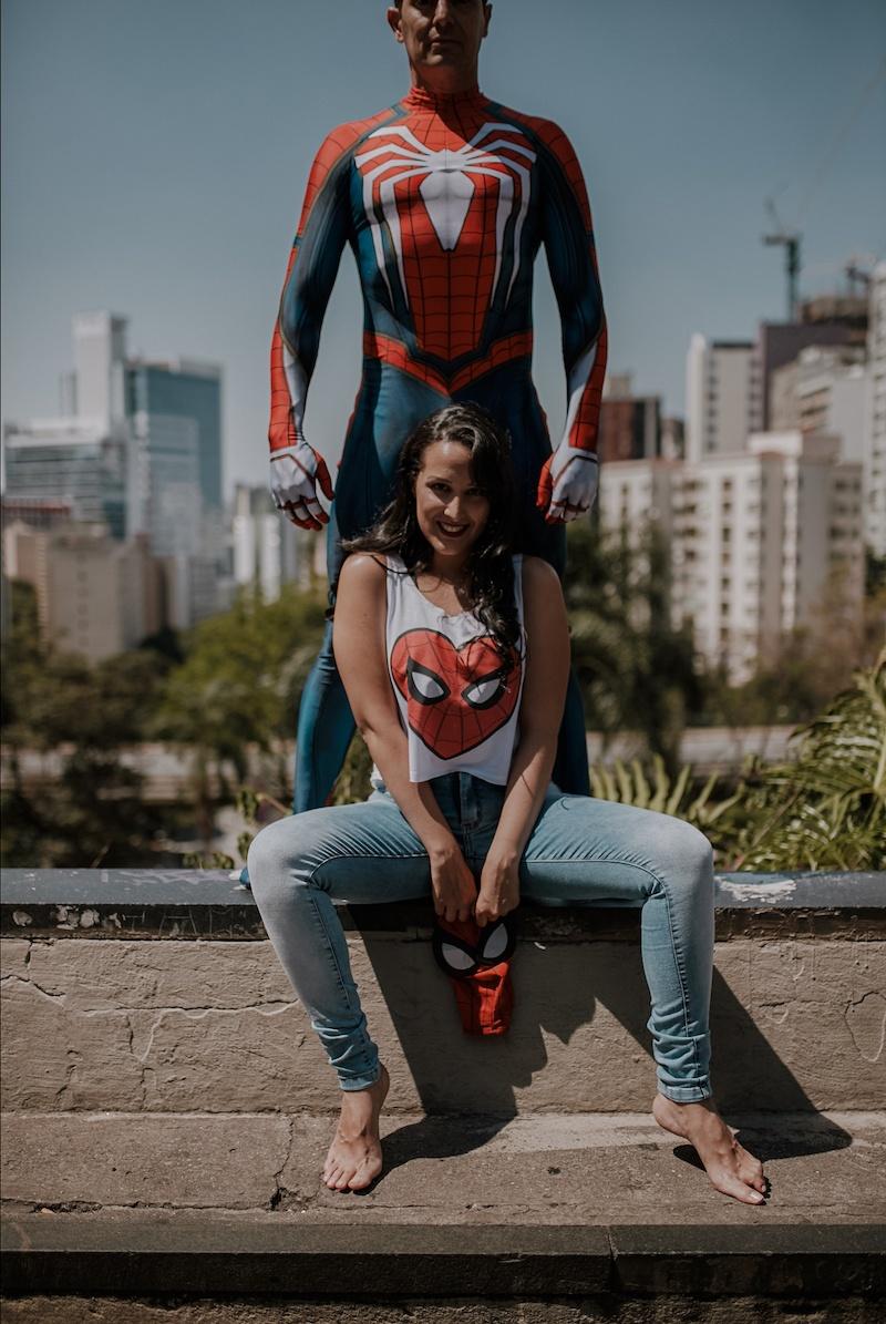 ensaio de super heróis