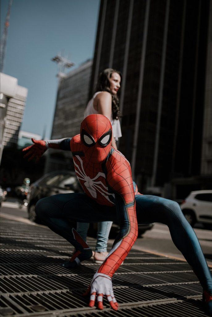 homem-aranha em sp