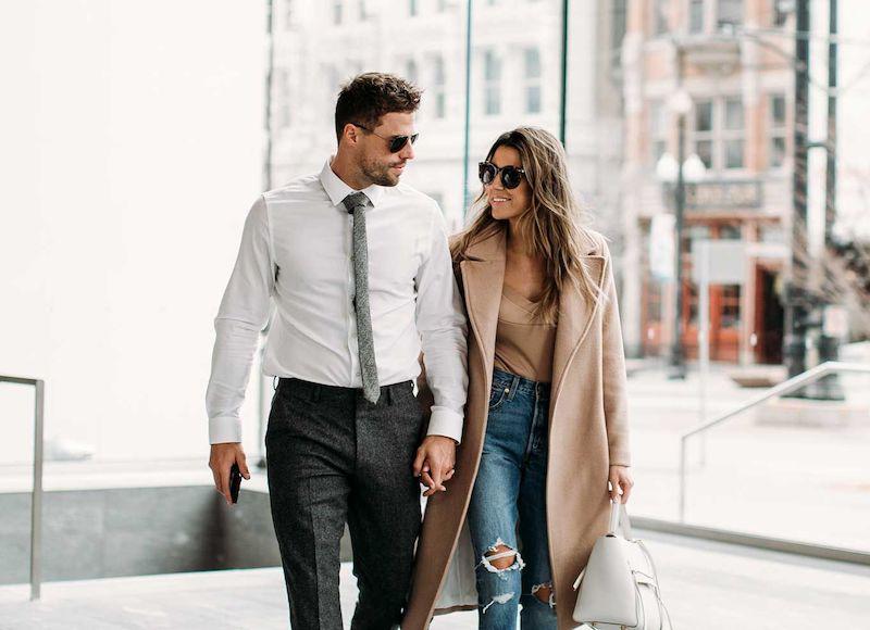 casal bem sucedido
