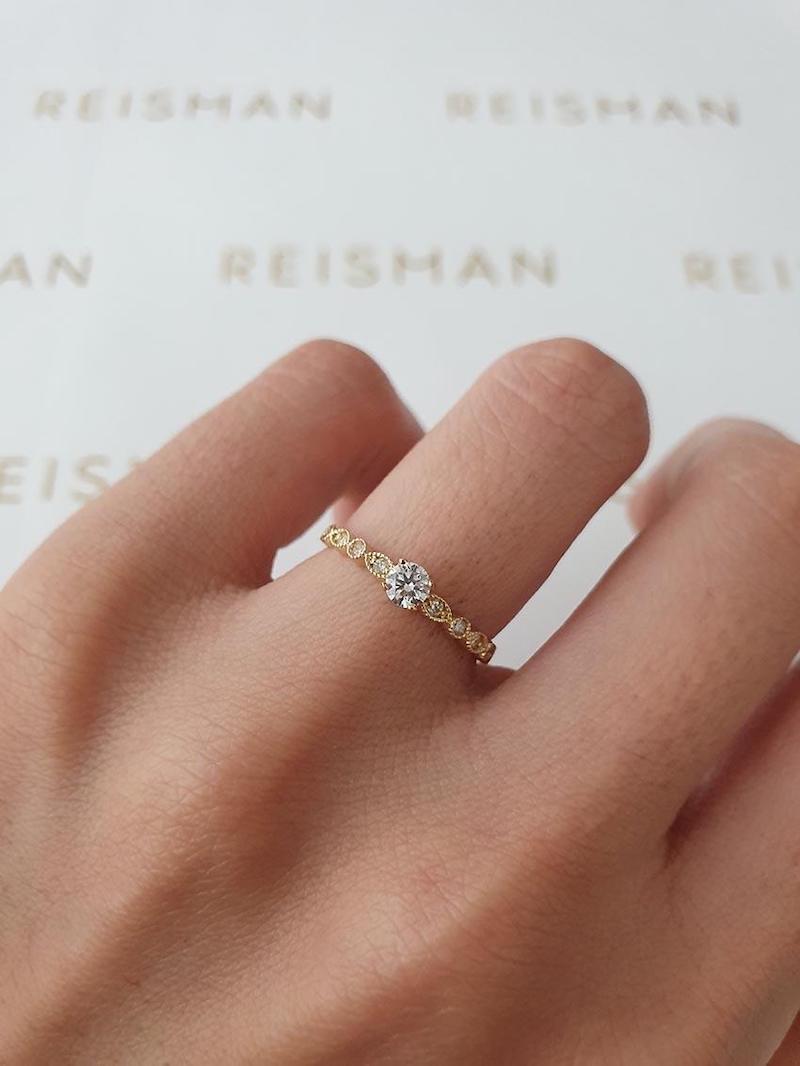 anel de noivado shine