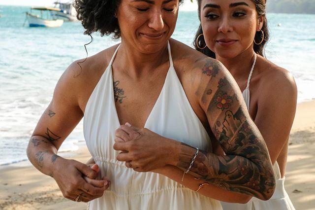 Elopement Wedding na praia