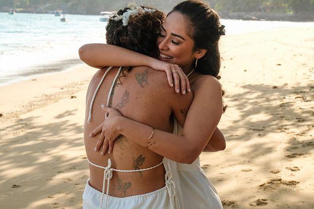 First Look Casamento Cris Rozeira e Ana