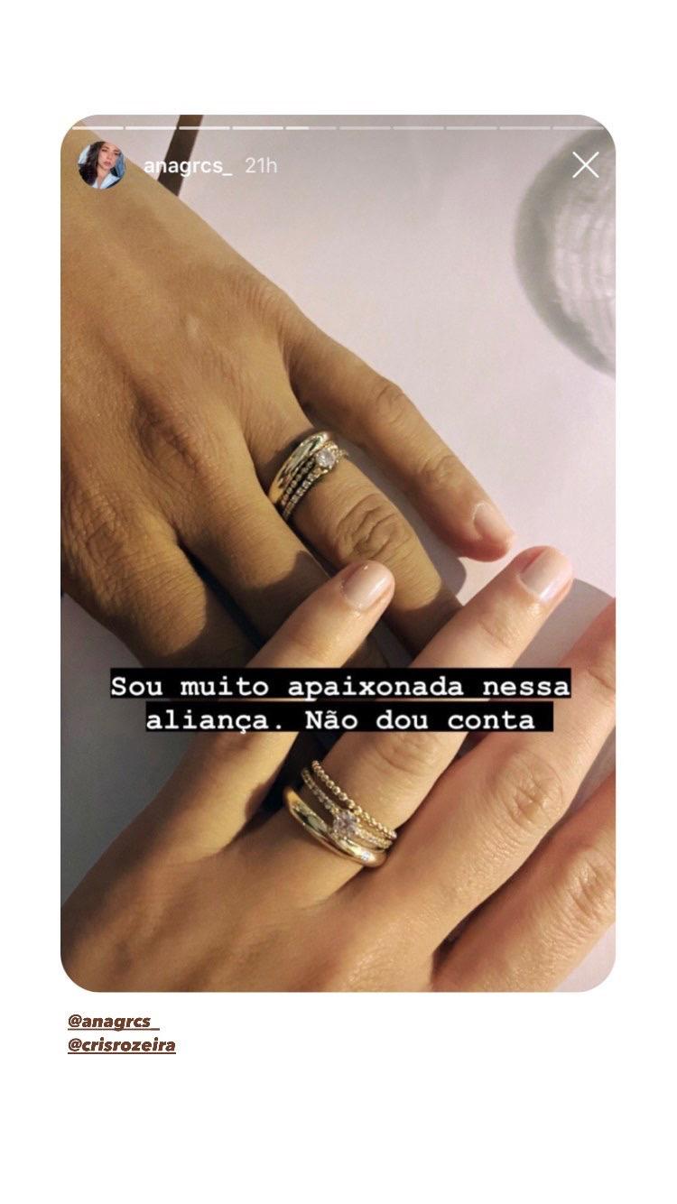 alianças Elopement Wedding Cris Rozeira e Ana Garcia