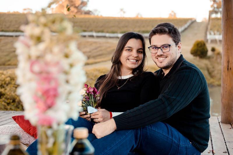 casal de noivos reisman