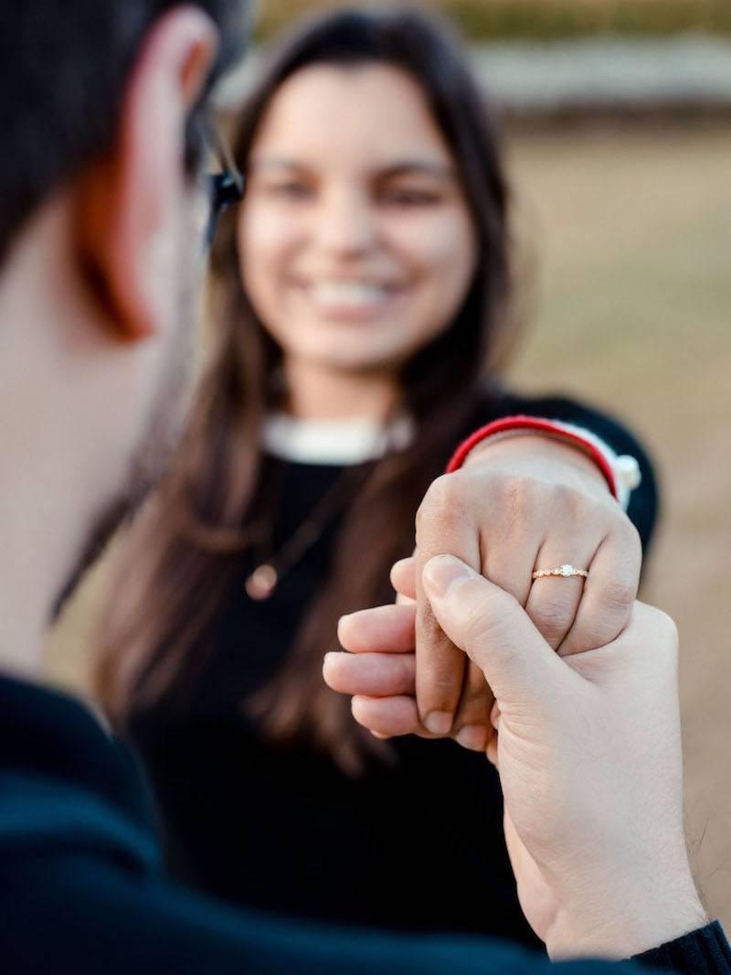 anel de diamante reisman