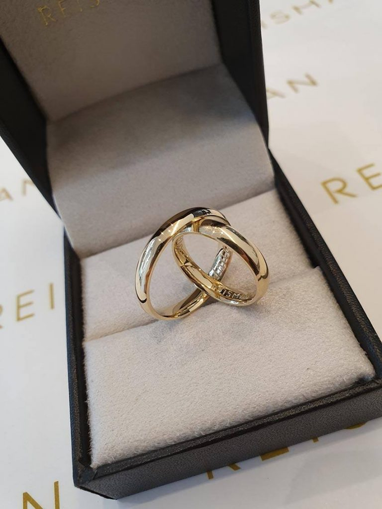 alianças de casamento Delicate