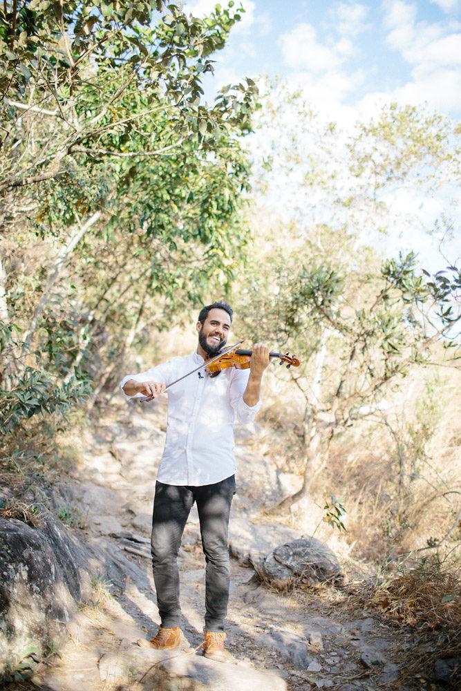 pedido de casamento ao som de violino