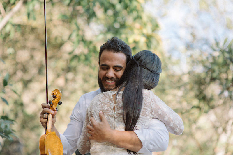 noivos Marcela Taís e Samuel