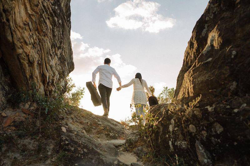 pedido de casamento no Pico dos Pirineus