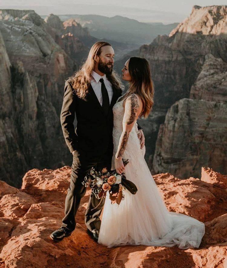 elopement wedding ao ar livre