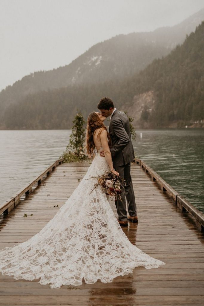 cerimônia de casamento a dois