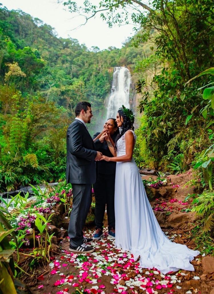 cerimônia de elopement wedding