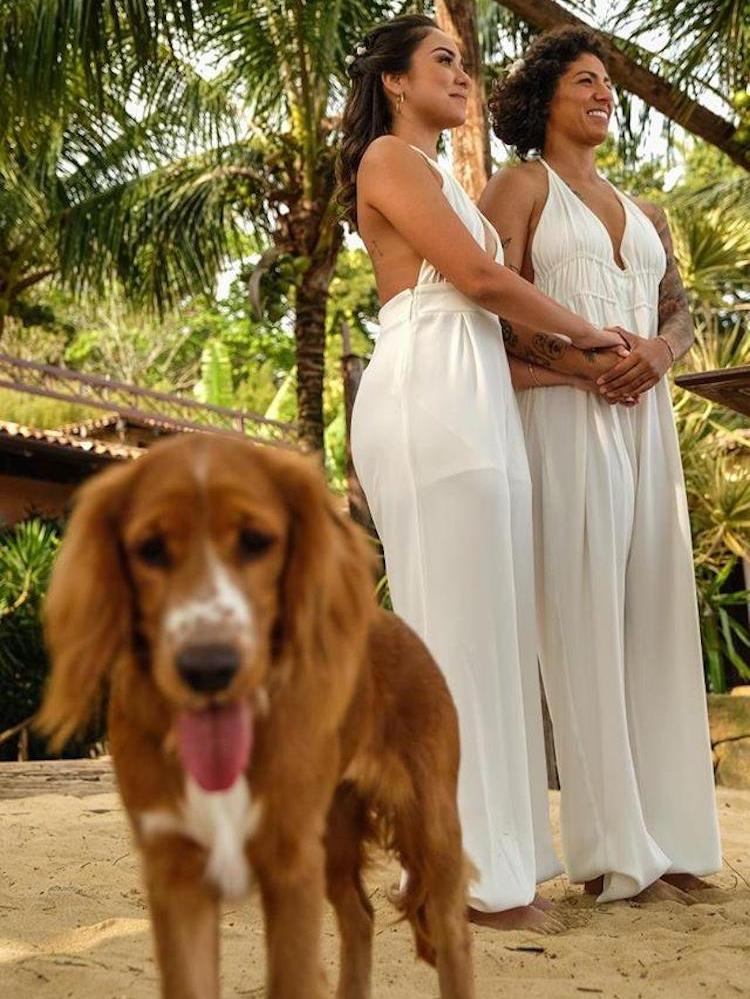 elopement wedding de Cris Rozeira e Ana Garcia