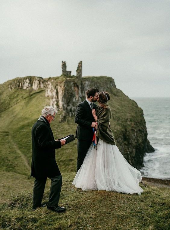 elopement wedding na Irlanda