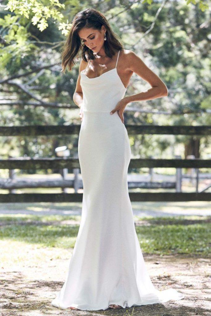 vestido de noiva básico