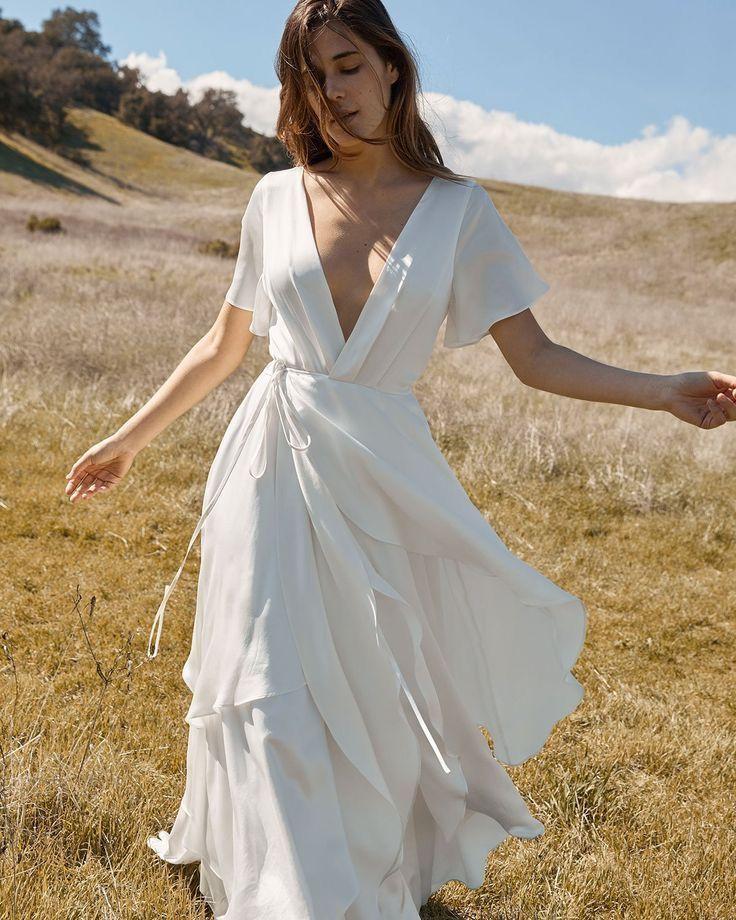 vestido de noiva básico e simples