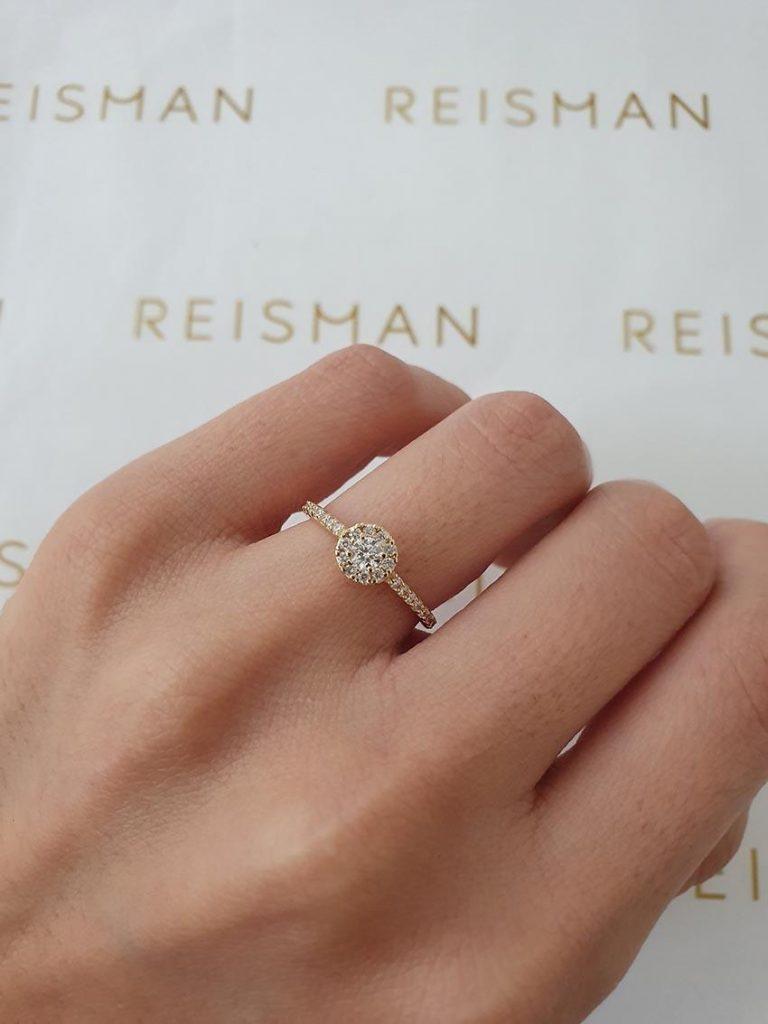 anel de noivado Romance