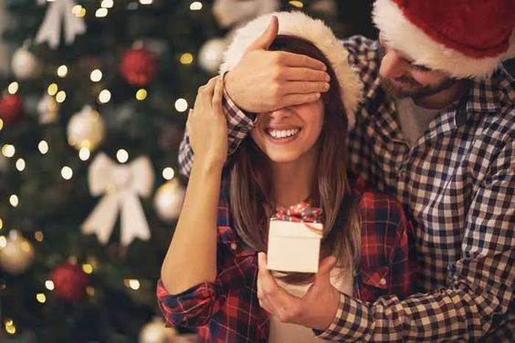 pedido de casamento na noite de natal