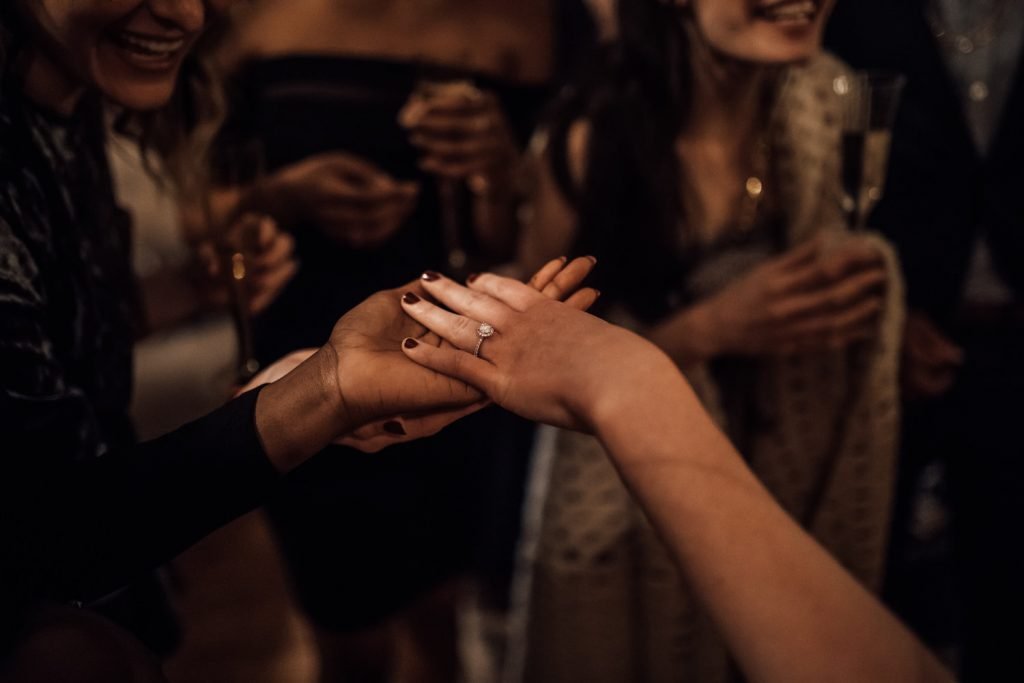 pedido de casamento na virada do ano