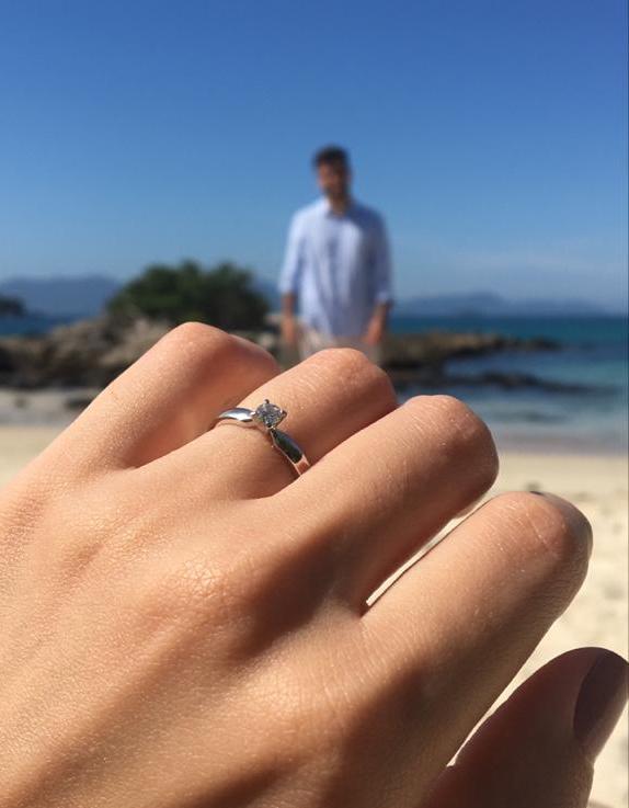 Ideias de como anunciar o noivado