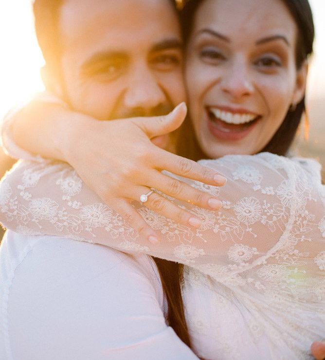 anúncio do noivado de Marcela Taís e Samuel