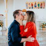 """Pedido de casamento surpresa: ela disse o """"sim"""" diante do altar"""