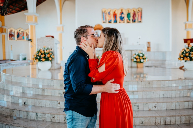 pedido de casamento em Catedral