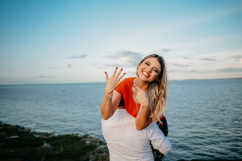 Cliente Reisman Giovana - Pedido de casamento