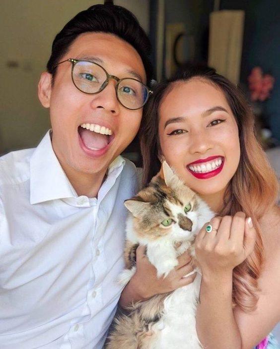 anúncio de noivado com seu pet