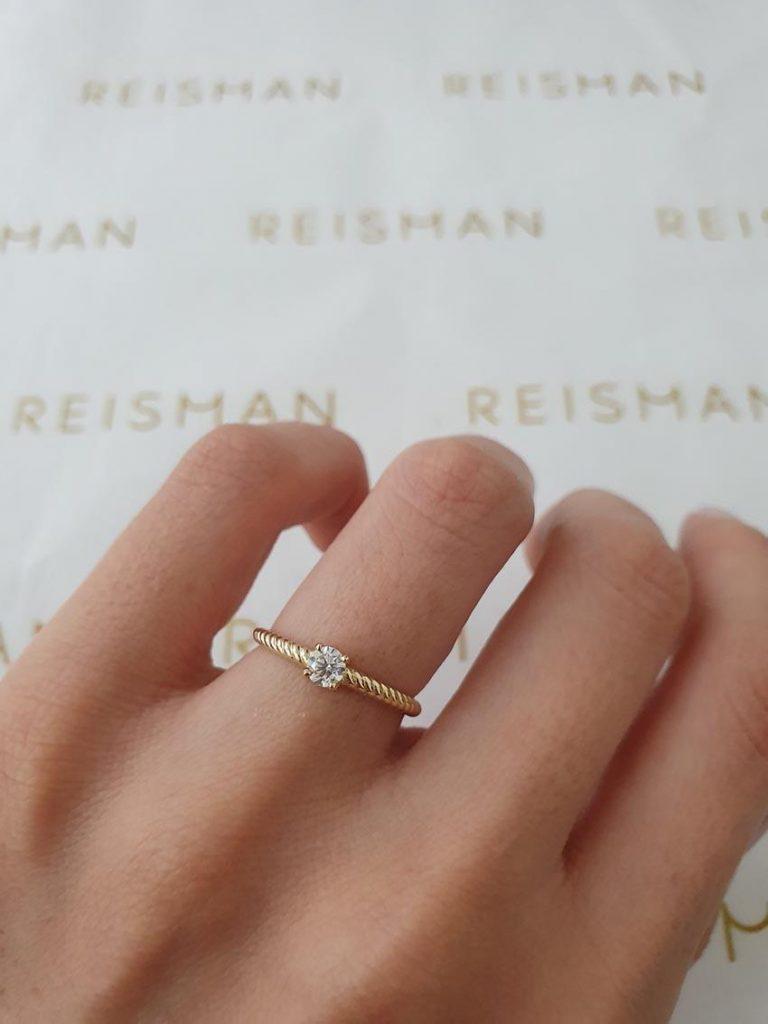 tipo de anel de noivado