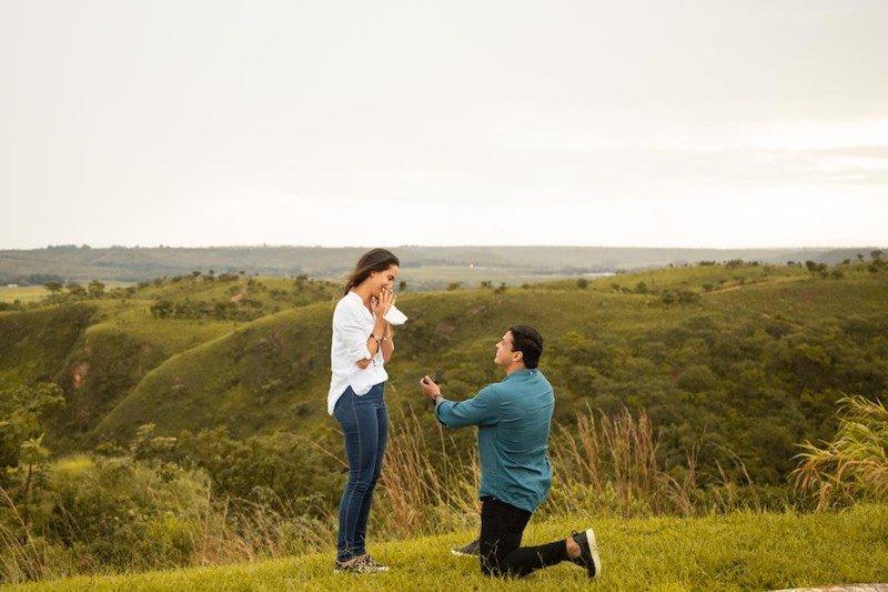 pedido de casamento surpresa Capela São Francisco