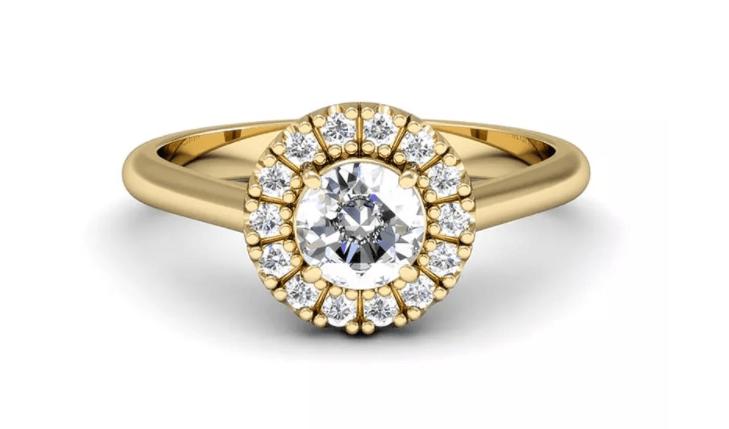 tipos principais de anel de noivado